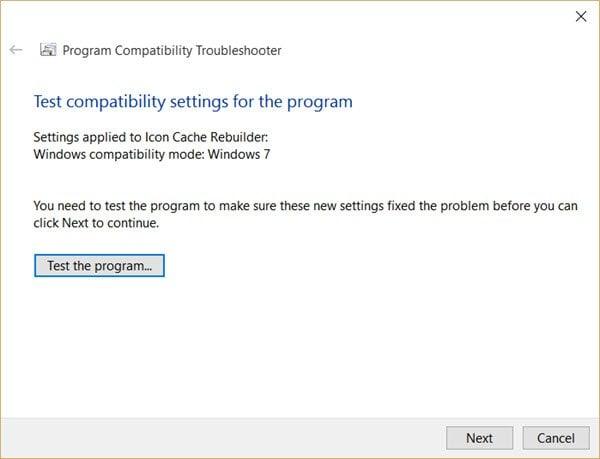 Este programa no se ejecuta en Windows 10 5