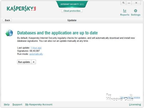 Revisión de la seguridad en Internet de Kaspersky 5