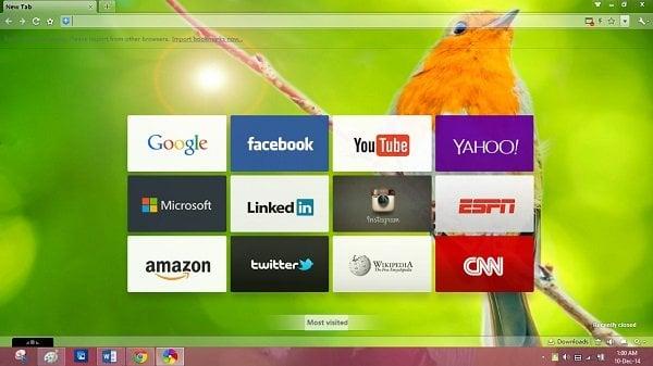 Navegador 360 para Windows: Bueno para los dispositivos táctiles 1