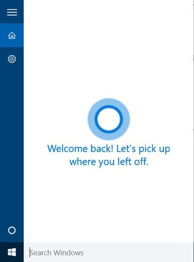 Habilitar y configurar Cortana en Windows 10