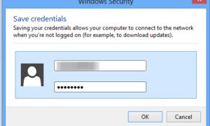 Hacer que Windows 8 recuerde la autenticación de red Wi-Fi PEAP