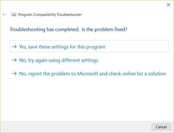 Este programa no se ejecuta en Windows 10 6
