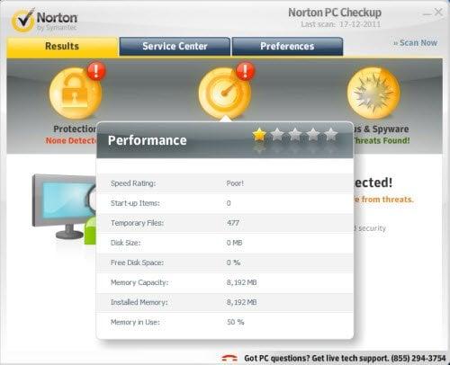¿Podemos confiar realmente en Norton PC Checkup Tool! 5