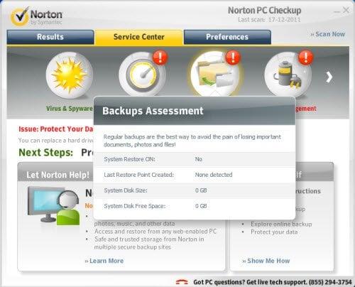 ¿Podemos confiar realmente en Norton PC Checkup Tool! 6