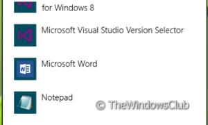 Eliminar Buscar una aplicación en la opción Store, en el menú Elegir programa predeterminado de Windows 8.