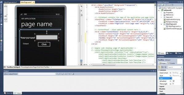 Desarrollo de aplicaciones de Windows Phone 7.5: Parte 3; Variables, tipos de datos y asignación de valores 1