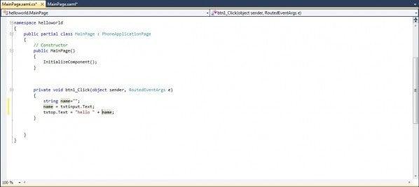 Desarrollo de aplicaciones de Windows Phone 7.5: Parte 3; Variables, tipos de datos y asignación de valores 2