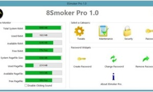 8Fumador Pro: Ajuste de freeware para Windows 8