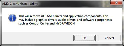 La utilidad AMD Clean Uninstall le ayuda a eliminar completamente los archivos del controlador AMD.