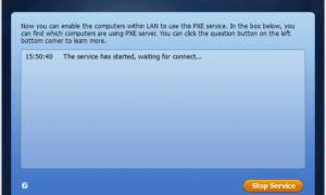 Bota AOMEI PXE: Arrancar el ordenador Windows a través de la red