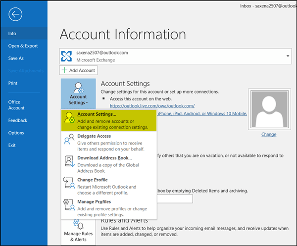 Cómo cambiar la cantidad de correo electrónico que se debe mantener fuera de línea en Outlook 1