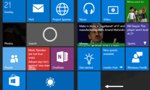 Cómo agregar varias Live Tiles para varias cuentas de correo electrónico en Windows 10