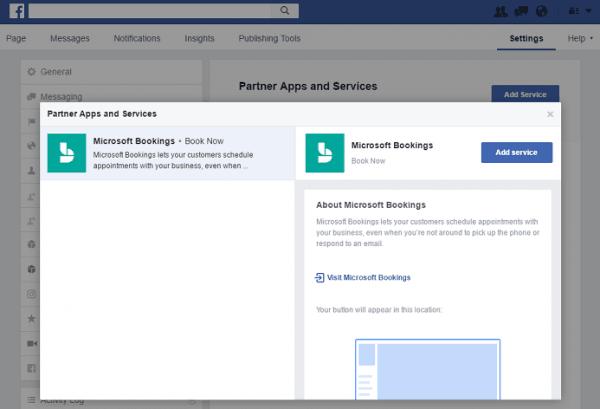 Cómo conectar las reservas de Microsoft y la página de Facebook 4