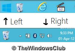 Papelera de reciclaje de pines a barra de tareas en Windows 10/8