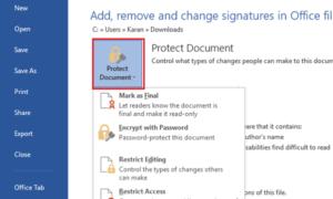 Cómo añadir, eliminar y cambiar firmas en archivos de Office