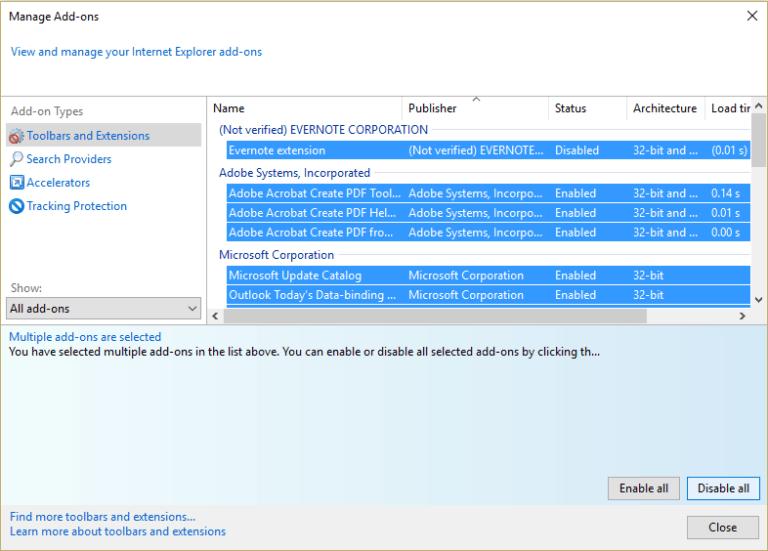 No hay sonido en Internet Explorer 11 en Windows 10