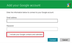 Cómo sincronizar los servicios de Google con Windows 8 o Windows RT