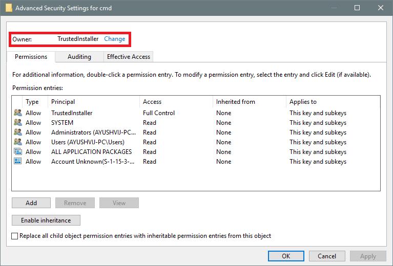 Restaurar Abrir la ventana de comandos aquí en el menú contextual de la carpeta de Windows 10