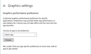 Corregir aplicaciones borrosas automáticamente y configurar Ajustes avanzados de escala y gráficos