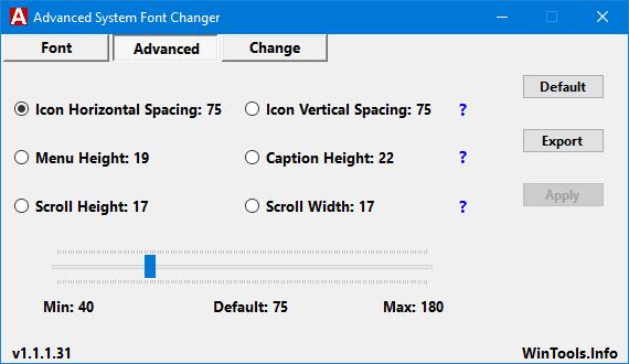 Advanced System Font Changer le permite cambiar la fuente del sistema en Windows 10