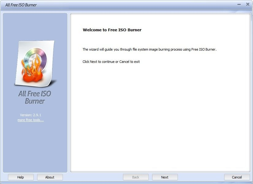 Mejores quemadores ISO gratuitos para Windows 10/8/7 3