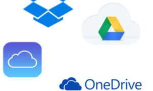 Comparación: OneDrive frente a Google Drive, Dropbox e iCloud