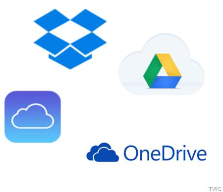Comparación: OneDrive frente a Google Drive, Dropbox e iCloud 1