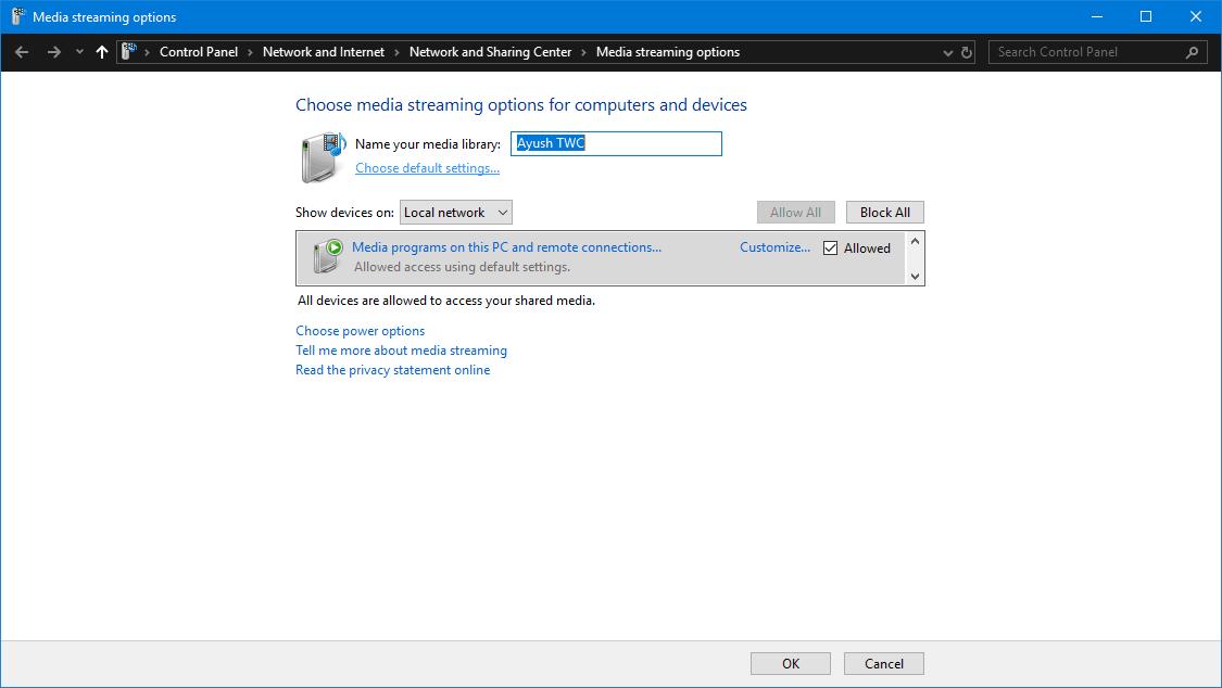 Chromecast no aparece en el ordenador con Windows