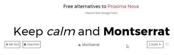 Encuentre alternativas gratuitas similares a las fuentes de pago 2