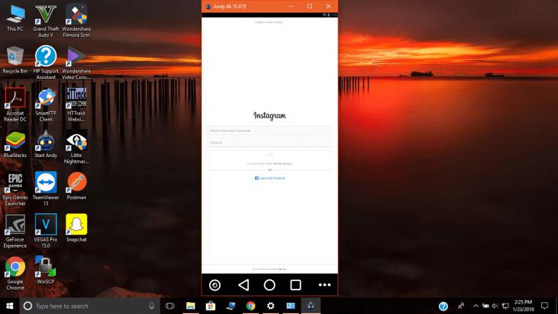 Cómo obtener Instagram o Snapchat en un PC con Windows