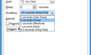 Cómo añadir efectos de sonido a las animaciones de Microsoft PowerPoint