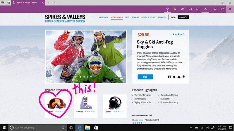 Cómo anotar páginas web y libros electrónicos en Microsoft Edge