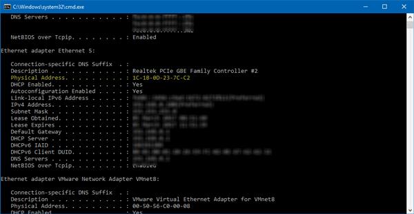Windows ha detectado un conflicto de direcciones IP