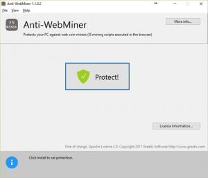 Anti-WebMiner para Windows detendrá Cryptojacking Mining Scripts