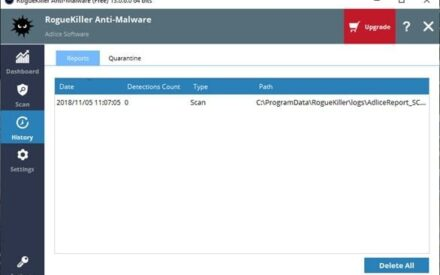 RogueKiller Anti-Malware es una potente herramienta gratuita para PC con Windows