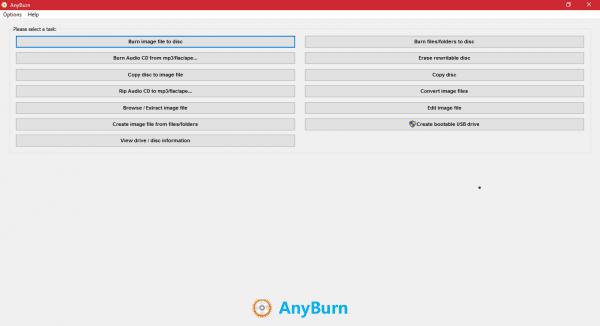 Graba cualquier archivo de imagen en DVDs y/o CDs con AnyBurn