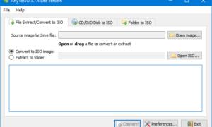 AnyToISO le permite convertir archivos y carpetas a ISO en Windows 10/8/7