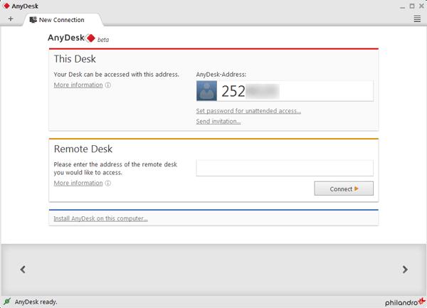 AnyDesk: Mejor alternativa gratuita de TeamViewer 1