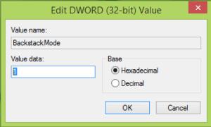 Corrección: El conmutador de aplicaciones no se muestra correctamente en Windows 8.1