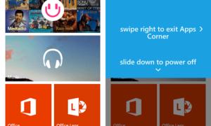 Uso de Apps Corner en Windows Phone 8.1