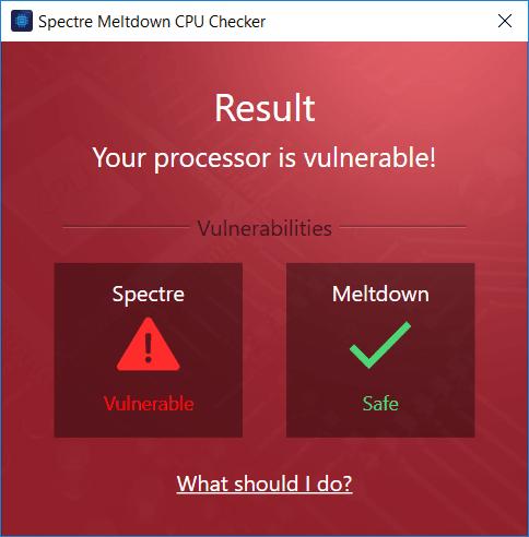 Ashampoo Spectre Meltdown CPU Checker comprueba si su ordenador con Windows es vulnerable