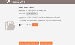 Ashampoo Backup 2018 le permite hacer copias de seguridad y restaurar particiones de disco completas con facilidad