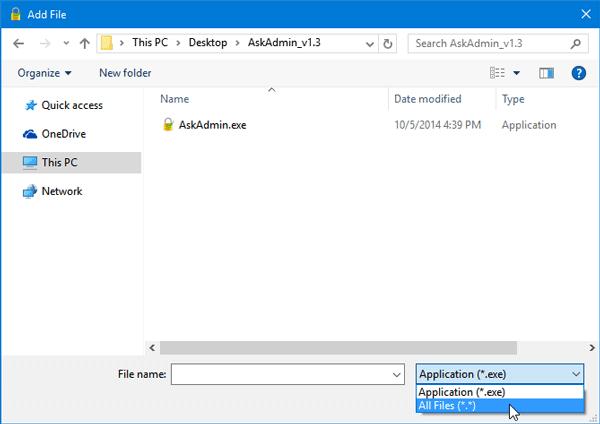 AskAdmin le permite bloquear la ejecución de programas en Windows