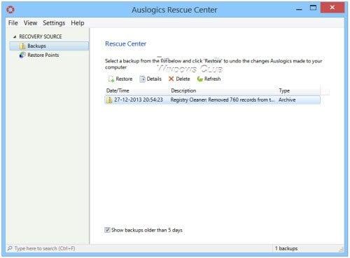 Limpiador de Registro de Auslogics: Limpiador de registro gratuito para Windows 10/8/7