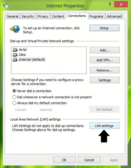 Utilice servidores proxy autenticados para corregir los errores de instalación de las aplicaciones de Windows Store. 2