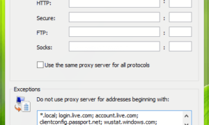 Utilice servidores proxy autenticados para corregir los errores de instalación de las aplicaciones de Windows Store.