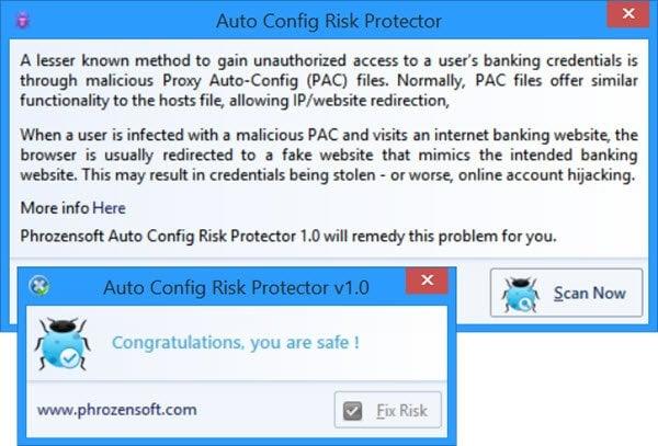 Riesgos del uso del archivo de configuración automática de proxy (PAC): evite la redirección maliciosa y el robo de identidad