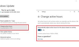 Cómo ajustar automáticamente las Horas Activas en Windows 10
