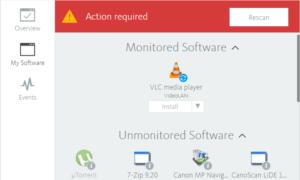 Avira Software Updater: Actualizar aplicaciones obsoletas en un PC con Windows