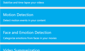 Microsoft Azure Media Services Analytics y sus características
